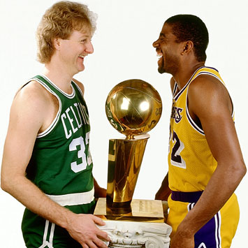 96ae8db67 Featuring WALTER A. Bob The Celtics and Lakers resumed their rivalry 15  years later as Larry Bird and Magic Johnson ...